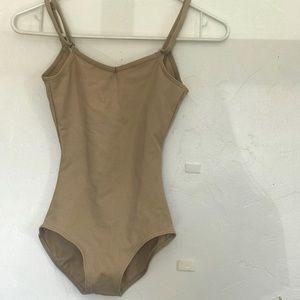 Nude leotard